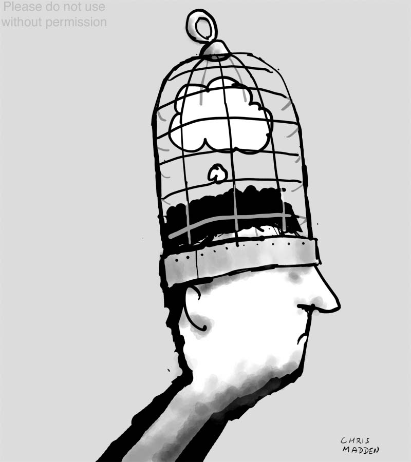 human rights  freedom of thought cartoon